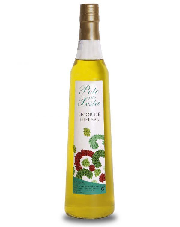 Botella licor de hierbas Pote da Xesta producto